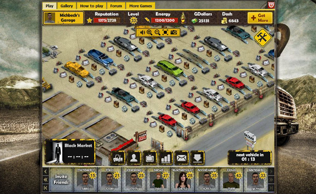 Online Car Games >> Screenshot 1
